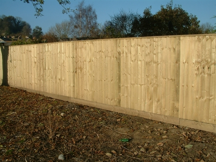 featheredge fencing john bright fencing. Black Bedroom Furniture Sets. Home Design Ideas