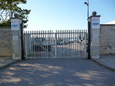 Palisade Security Gates