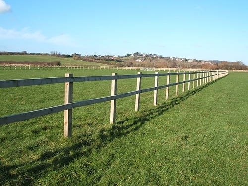 Post and rail john bright fencing