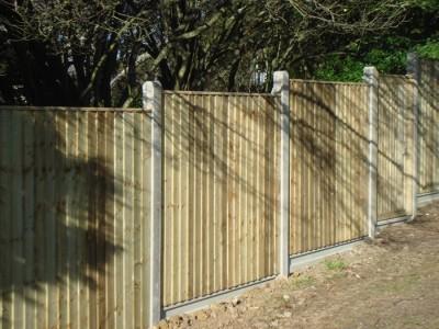 Tanalised closeboard panels-2
