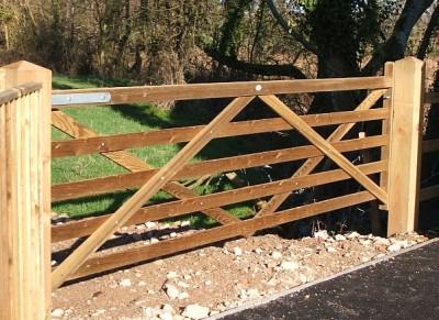 Tanalised gate