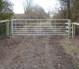 7 rail National Box End Field Gate