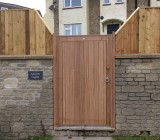 Classic gate with fetheredge
