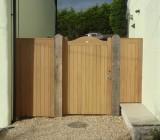 Border Door Iroko Single