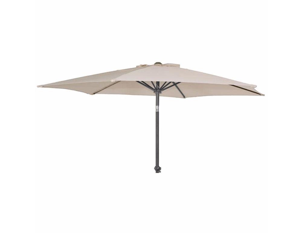 parasol aluminium 3m john bright fencing. Black Bedroom Furniture Sets. Home Design Ideas