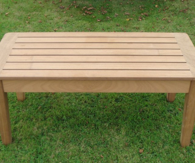 Iroko Coffee Table