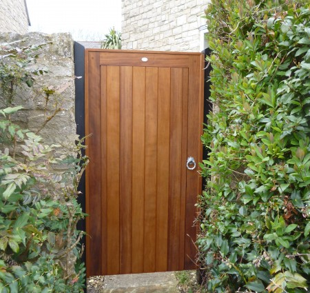 Border Door Iroko