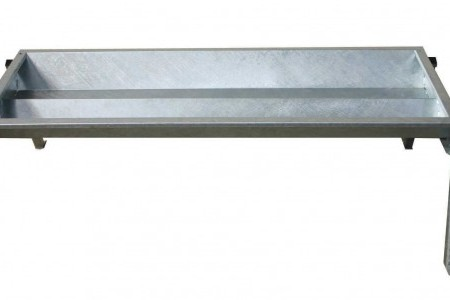 double sided cattle trough