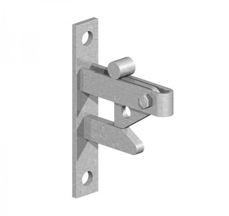self locking gate catch
