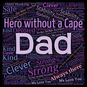 Word salad about dad