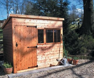 Malvern wooden shed
