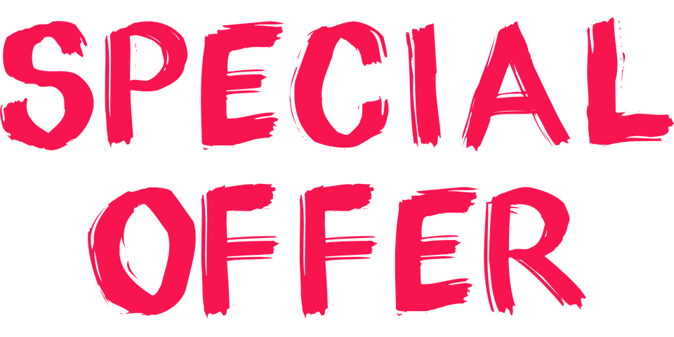 Special offer banner