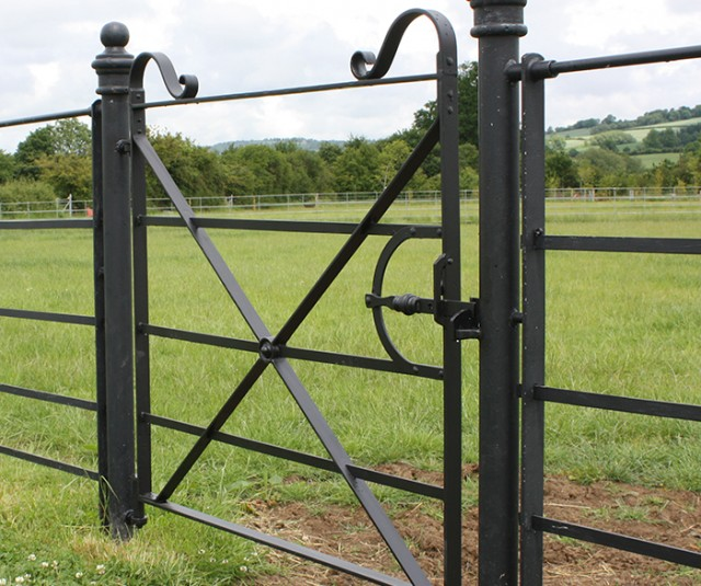 Gate post pic