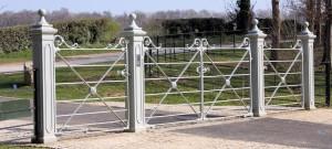 Silver metal gate