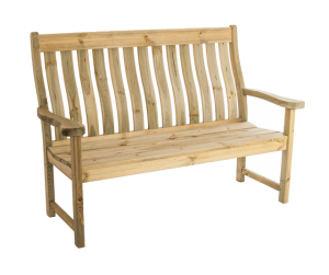 Farmers wooden bench