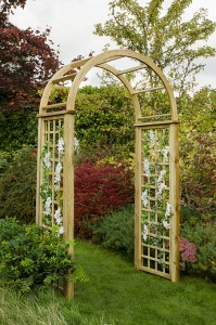 Florence wooden garden arch