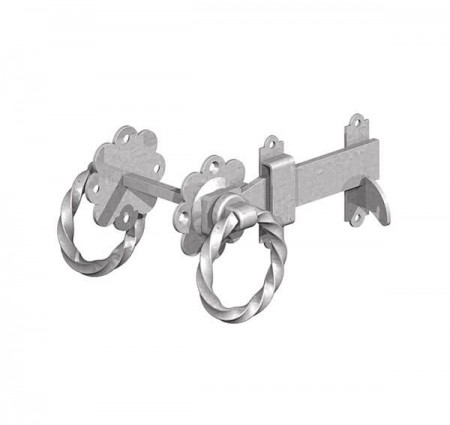 twisted ring latch galv