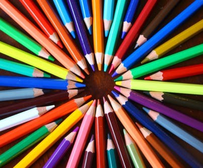 Pencils in a circle