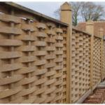 Oak Fencing Panels