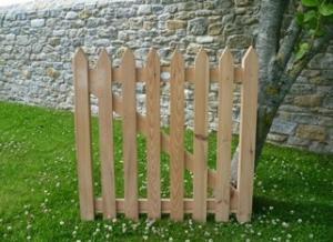 Handmade wooden gate